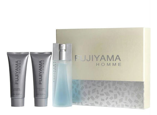 FUJIYAMA by Succes De Paris 3pc Men Gift Set - South Beach Perfumes