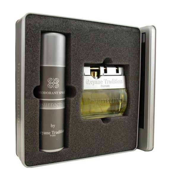 INSURRECTION by Reyane Tradition EDT 3.4 SP Men Gift Set - South Beach Perfumes