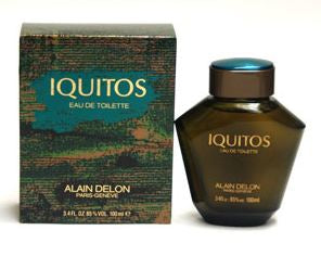IQUITOS by Alain Delon EDT 0.24 OZ SPLASH Men MINIATURE - South Beach Perfumes