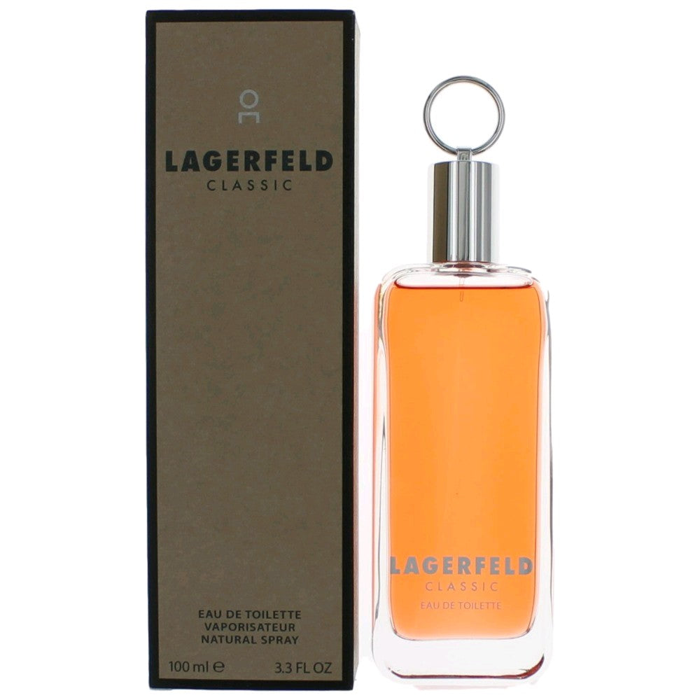 LAGERFELD CLASSIC by Karl Lagerfeld EDT 3.4 OZ SP Men - South Beach Perfumes