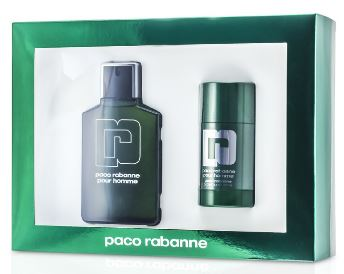 PACO RABANNE by Paco Rabanne Gift Set EDT 3.3 OZ Men with 2.2 OZ Deodorant Stick - South Beach Perfumes
