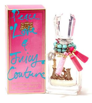 PEACE LOVE JUICY COUTURE by Juicy Couture EDP 1.7 OZ SP LADIES - SouthBeachPerfumes