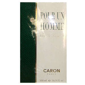 POUR HOMME CARON by Caron EDT 16.9 OZ SPLASH MEN - SouthBeachPerfumes