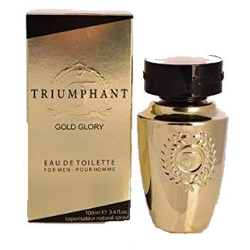 TRIUMPHANT GOLD GLORY by Nu Parfums EDT 3.4 OZ SP Men