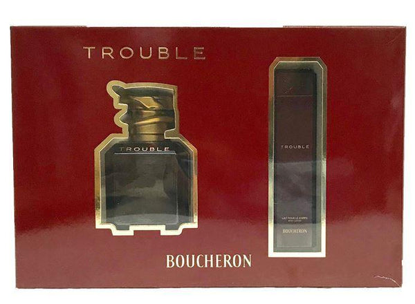 By Gift Set 2 Boucheron Pc Trouble Ladies NXOZw8Pkn0