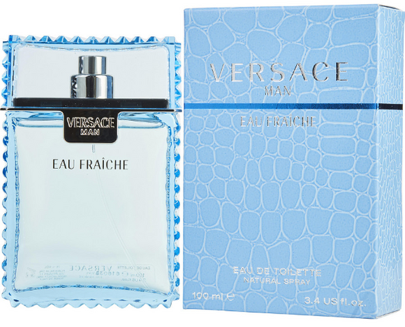 VERSACE MAN EAU FRAICHE by Gianni Versace EDT 3.4 oz SP Men