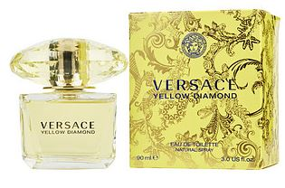 VERSACE YELLOW DIAMOND by Versace EDT 3 oz SP Ladies - SouthBeachPerfumes
