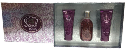 VINTAGE SOUL by Liz Claiborne 3 PC Ladies Gift Set - South Beach Perfumes