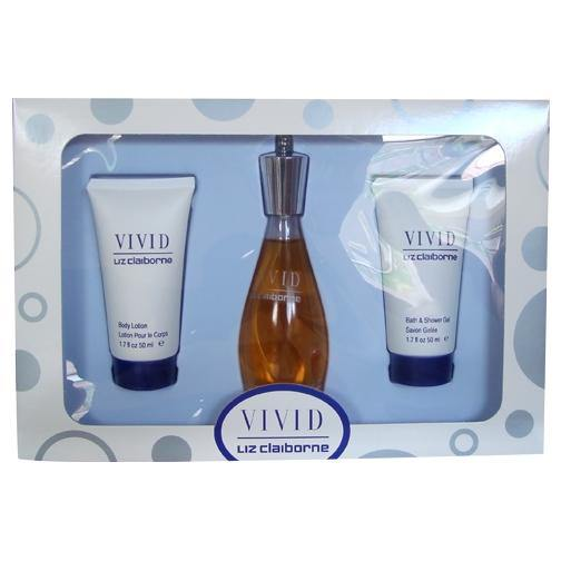 VIVID by Liz Claiborne 3 PC Ladies Gift - South Beach Perfumes