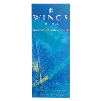 WINGS by Giorgio Beverly Hills EDT 3.4 OZ SP Men - SouthBeachPerfumes
