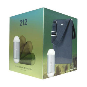 212 GIFT SET by Carolina Herrera EDT 2 OZ SP with Cross-body Bag - SouthBeachPerfumes