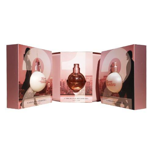 212 Sexy 3 piece Gift Set - South Beach Perfumes