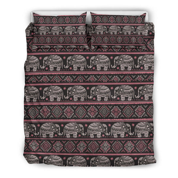 Thai Elephants Sublimated MAde-To-Order Bedding Set