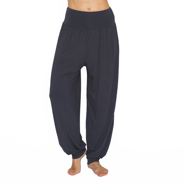 CLOSEOUT ~ NAMASTE BASICS ~ DARK GREY HAREM VISCOSE LONG
