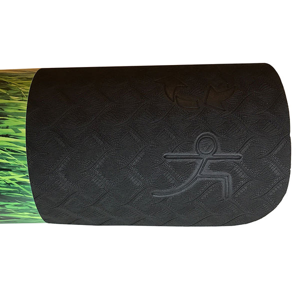 WARRIOR ECO YOGA MAT BLACK 1/4 Inch 24x72