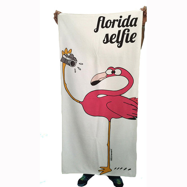 FLORIDA SELFIE SUBLIMATED TOWEL