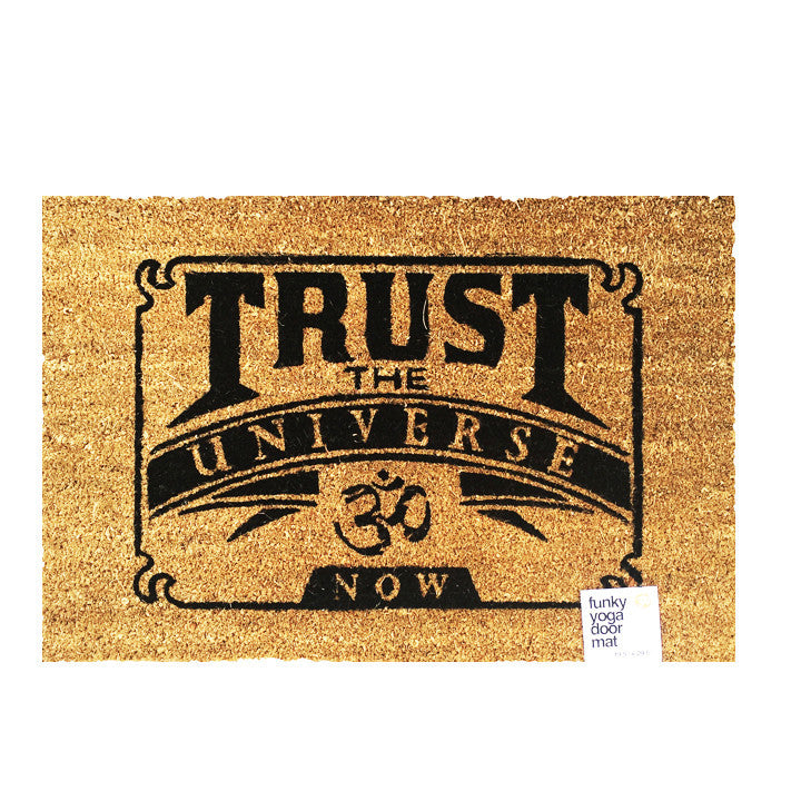 Trust Recycled Printed Door Mat FY252-DM-NT - Funky Yoga  Gear & Accessories