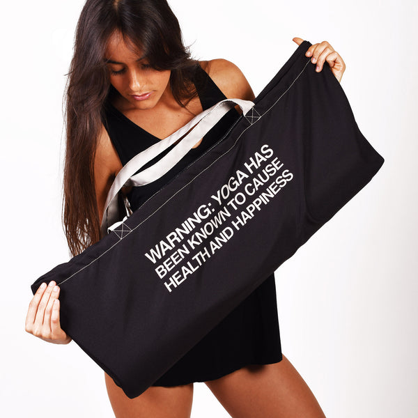 PRACTICE  ~WATERPROOF RECYCLED YOGA TOTE BAG  30X10