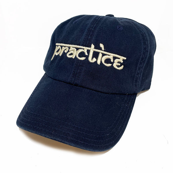 PRACTICE ~ UNSTRUCTURED CHINO TWILL DAD CAP