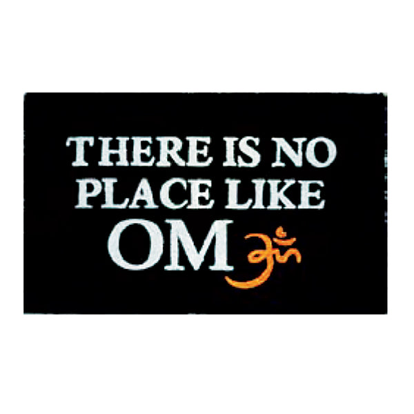 Like Om Printed Door Mat - Funky Yoga  Gear & Accessories