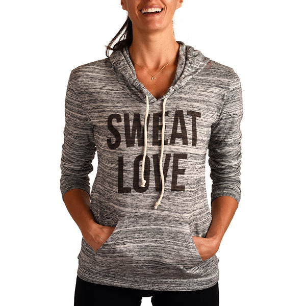 SWEAT LOVE ~ RECYCLED PULLOVER HOODIE