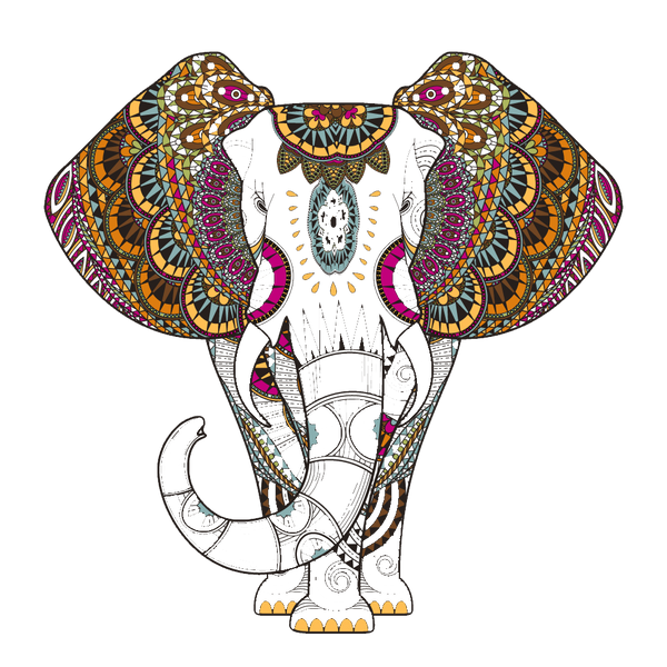 ELEPHANT BURNOUT HOODIE - Funky Yoga  Gear & Accessories