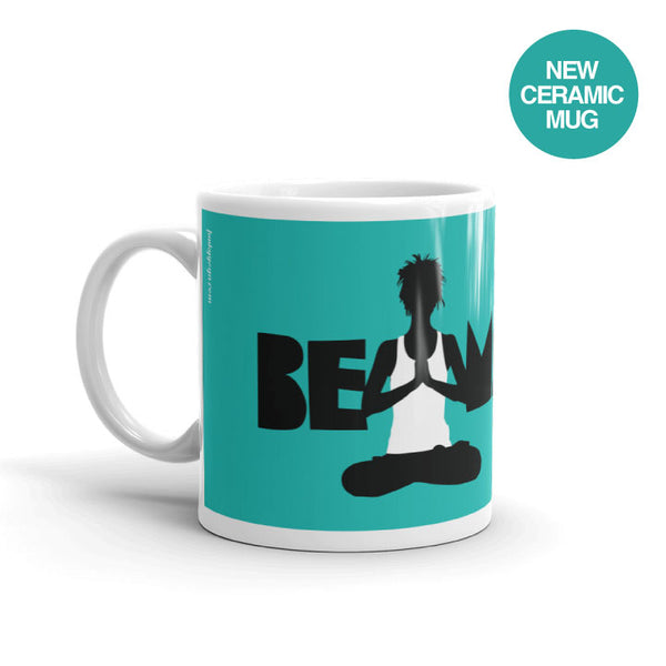BE MINDFUL CERAMIC COFFEE MUG 11oz