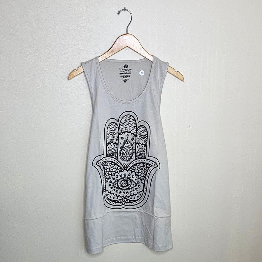 HAMSA ~NATURAL MEN COTTON JERSEY TANK