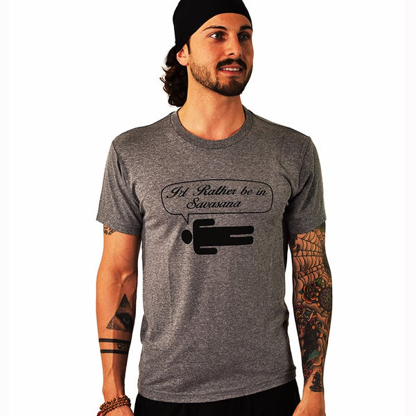 RATHER BE MEN TRIBLEND CREW T