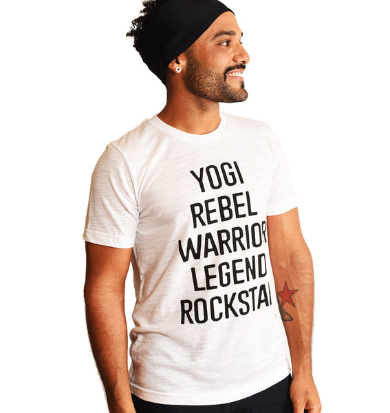 YOGI REBEL SLUB MEN CREW T