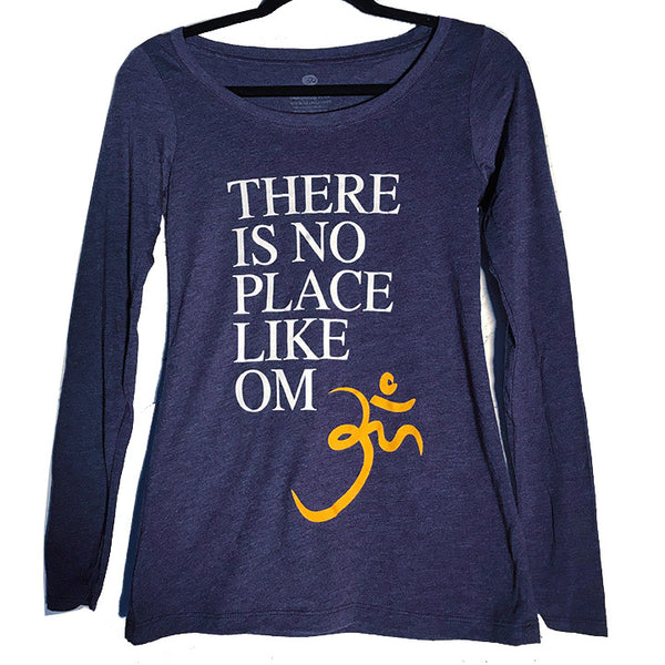 LIKE OM ~ HEATHER NAVY SCOOP TRIBLEND LONG