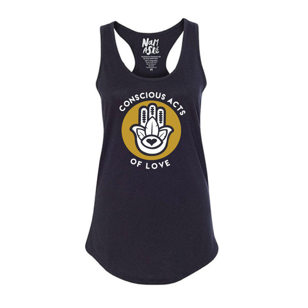 CONSCIOUS ACTS COTTON RACER TANK