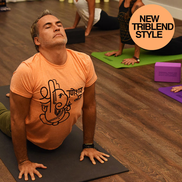 GANESH STRETCH ORANGE MENS TRIBLEND VINTAGE - Funky Yoga  Gear & Accessories