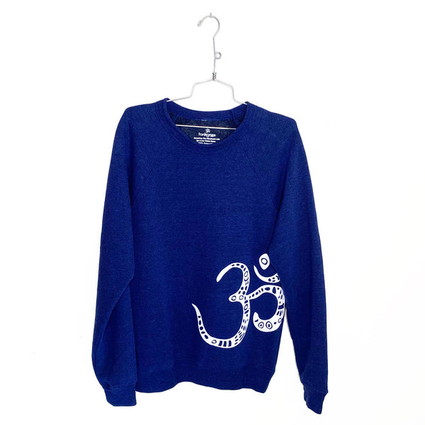 TRIBAL  OM ~ UNISEX FLEECE SWEATSHIRT