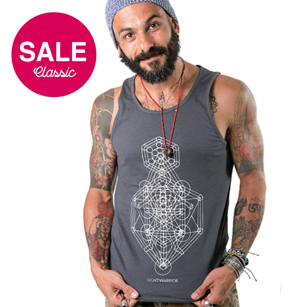 LIGHT WARRIOR MEN CLASSICS JERSEY TANK - Funky Yoga  Gear & Accessories