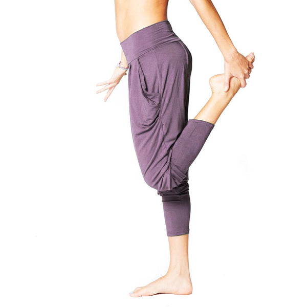 LAVENDER ~ HAREM VISCOSE JOGGER PANT WITH POCKETS