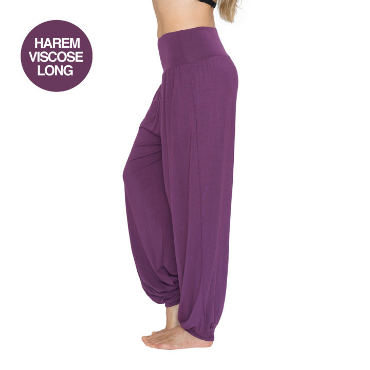 NAMASTE BASICS BURGUNDY HAREM VISCOSE LONG
