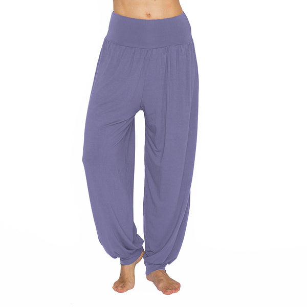 NAMASTE BASICS STEEL HAREM VISCOSE LONG