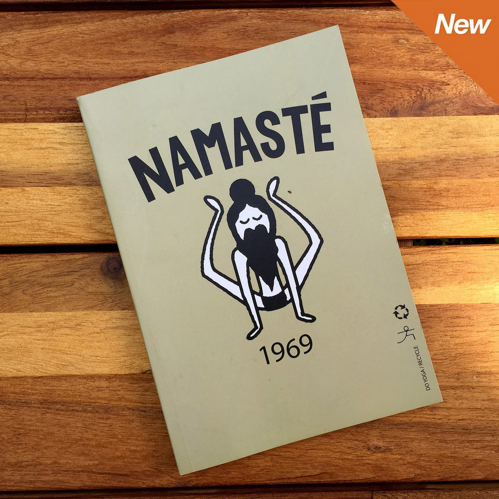 Namaste 1969 100% Post Consumer Recycled Notebook