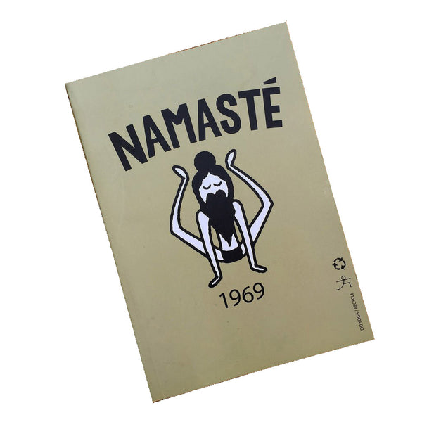 NAMASTE 1969 100% POST CONSUMER RECYCLED NOTEBOOK (BLANK)