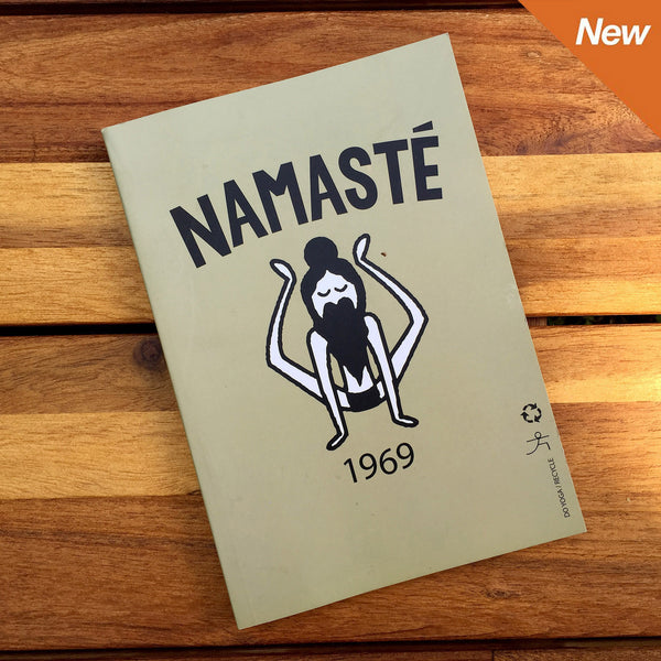 Namaste 1969 100% Post Consumer Recycled Notebook  FY299-RNT-1969