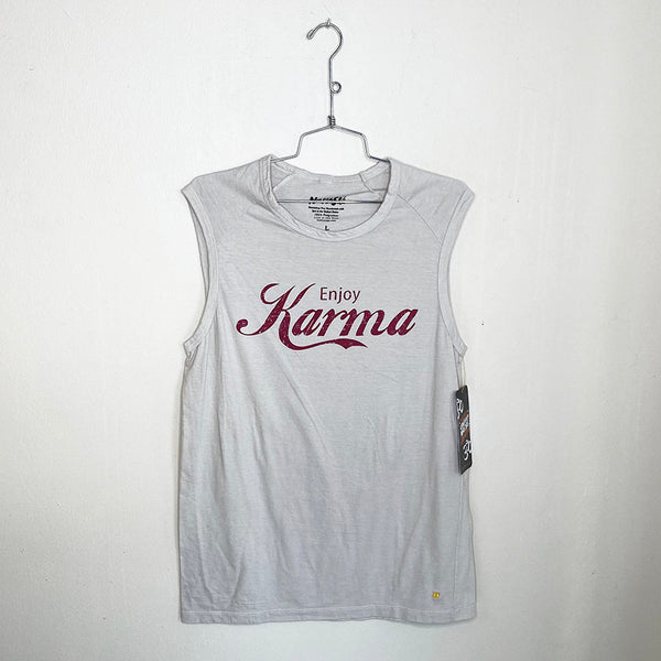 ENJOY KARMA ~ MENS NATURAL MUSCLE COTTON TANK