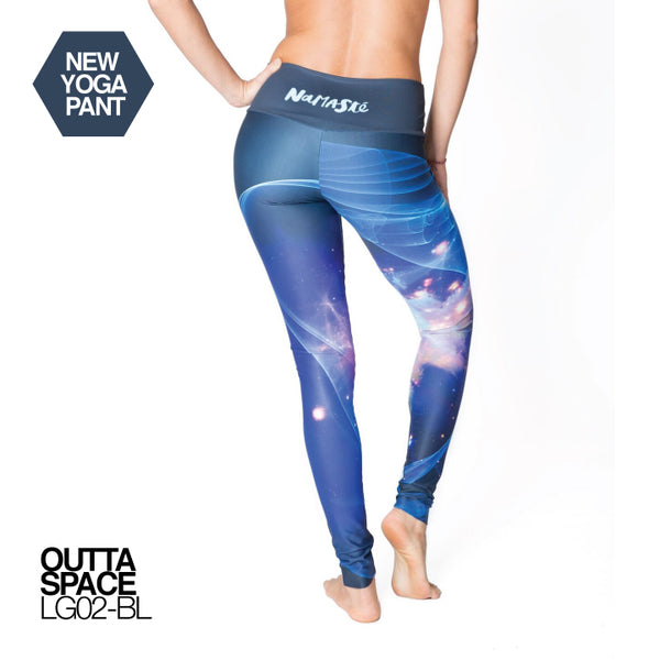 OUTTA SPACE ~ HIGH WAIST FULL LENGTH YOGA LEGGINGS