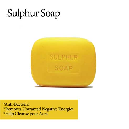 MURRAY & LANMAN ANTI-BACTERIAL    ANTI-BAD ENERGIES  SULPHUR SOAP                                   3.3 OZ