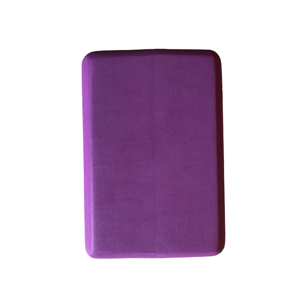 4-INCH THICK RECYCLABLE WARRIOR PURPLE YOGA BLOCK - Funky Yoga  Gear & Accessories