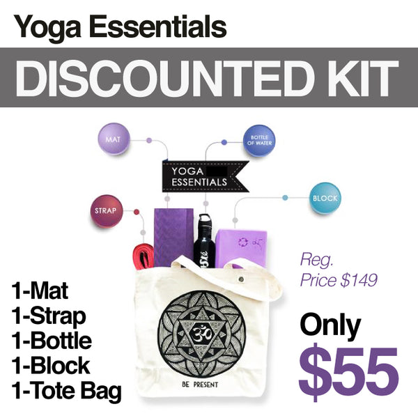 DISCOUNTED PACK YOGA ESSENTIALS KIT
