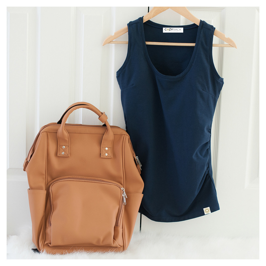 COZYRack Tank [in Navy]