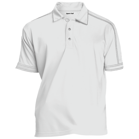 Contrast Stitch Performance Polo