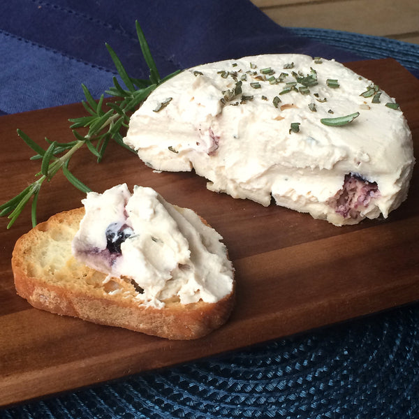 Rosemary Blueberry Chèvre Style