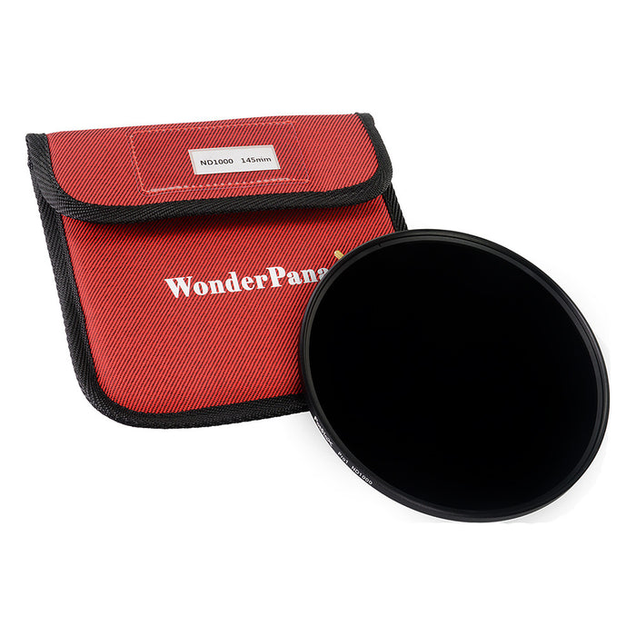 Fotodiox Pro 145mm Neutral Density 1000 (10-Stop) Filter - Coated ND1000 Filter (works with WonderPana 145 & 66 Systems)